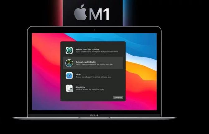 كيفية إستخدام وضع الاسترداد في M1 Mac في استرداد macOS