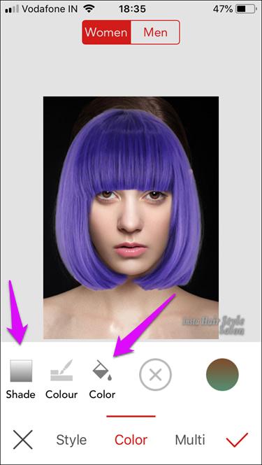 iOS Apps to Change Hair Color 6 4d470f76dc99e18ad75087b1b8410ea9